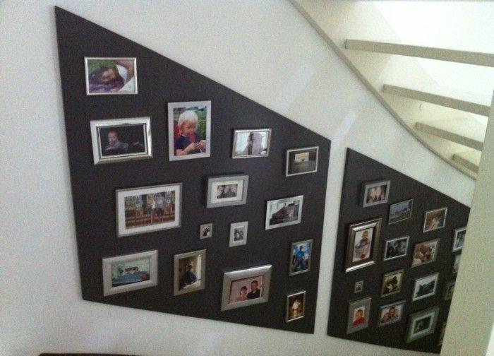25 beste idee n over fotolijstjes versieren op pinterest fotolijst muren foto arrangement en - Versieren van een muur in ...