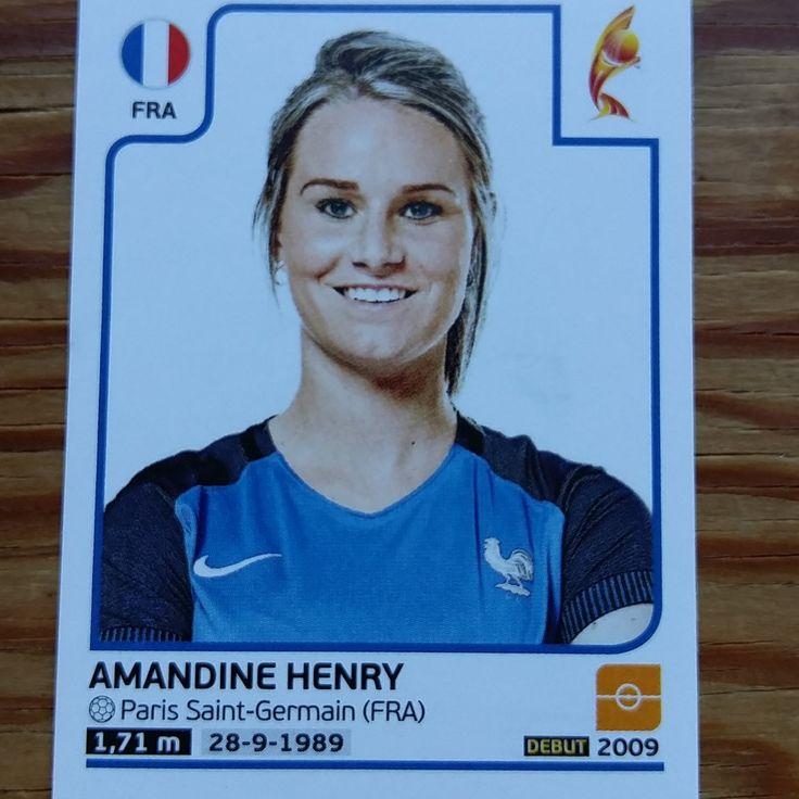 Amandine Henry || FRA (Panini Euro 2017)