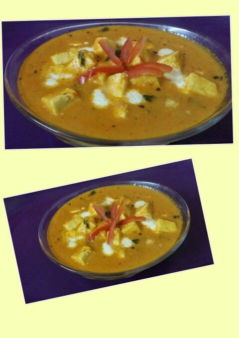 Shahi paneer...   Yummy!!...it can be served with chapatis