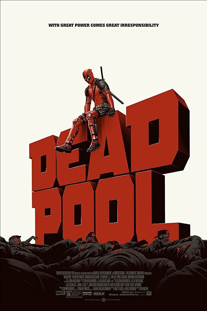 Poster Deadpool Poster Deadpool Movie Poster Mondo Posters