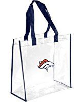 Amazon.com : 2013 Messenger Bag NFL Football Clear See Thru - Pick Team (Denver Broncos) : Sports Fan Bags : Clothing