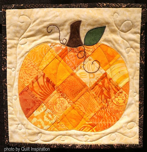 Patchwork Pumpkin By Barbara Raisanen Arizona Photo By Quilt Inspiration Quilts To Celebrate Autumn Quilted Wall Hangings Fall Quilts Halloween Quilts