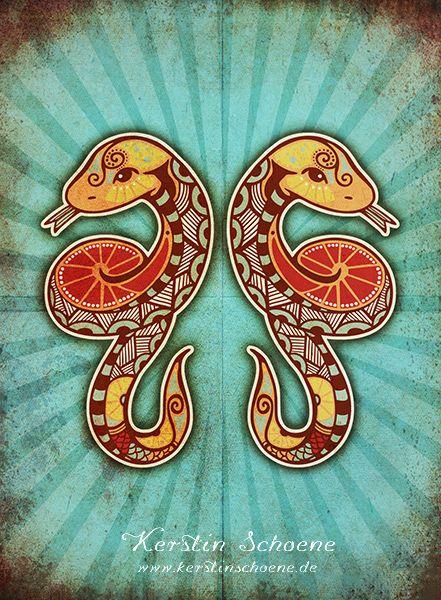 zodiac+sign+-+gemini+by+KerstinS.deviantart.com+on+@deviantART