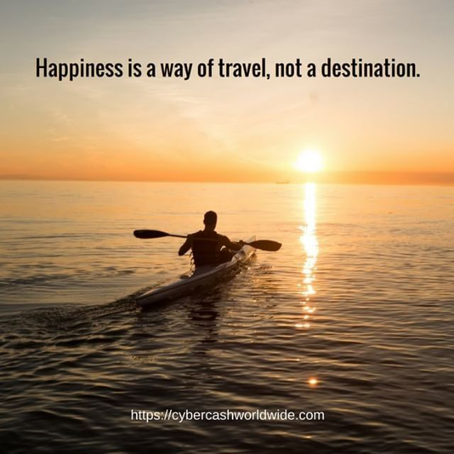 Happiness is a way of travel not a destination.  #motivation #success #inspiration #inspirational #entrepreneur #business #quotes #love #believeinyourself #lifestyle #successful #quoteoftheday #quote #money #entrepreneurship #life #entrepreneurs #hardwork #happiness #passion #work #inspire #lifequote #goals #happy #instagood #wealth via @ray.ww