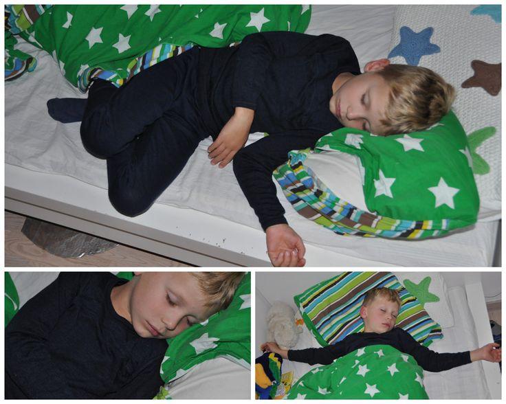 I år har Joha udfordret os og ladet os teste Joha uld/silke på Lucas som har børneeksem.