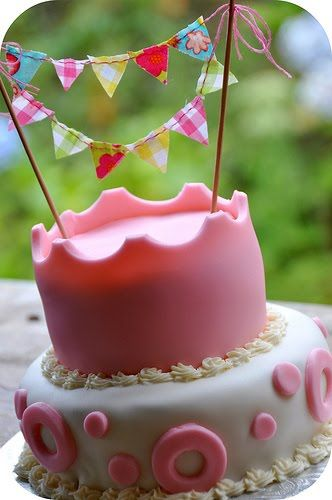 bunting cake!