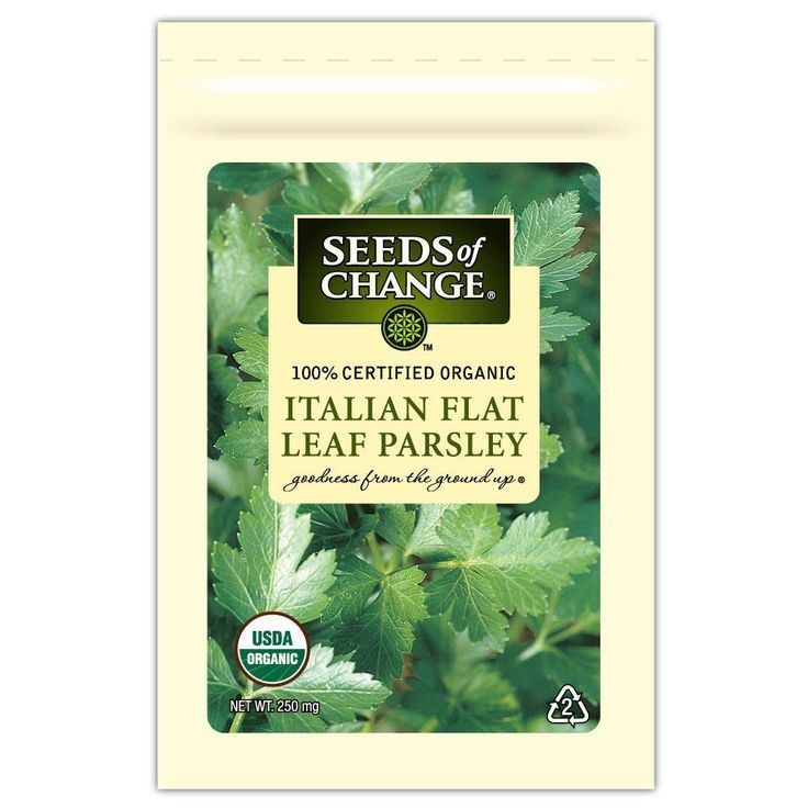 Seeds of Change Parsley Italian Flat Leaf (1-Pack)-01360 - The Home Depot