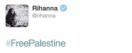 Rihanna tweets #FreePalestine support, deletes it, posts something far less controversial on the Israel-Gaza conflict instead - People - News - The Independent