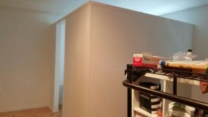 Creating an extra room for a home office