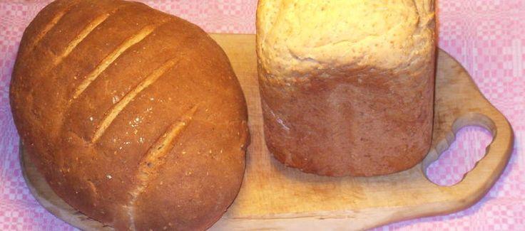 Sesamlantbröd med öl - ugn eller bakmaskin