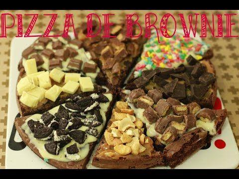 Pizza de brownie - Dupla Gourmet