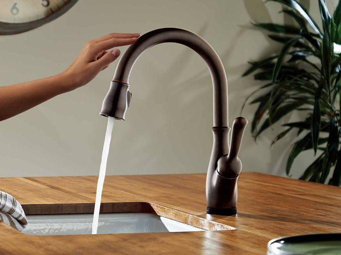 タッチするだけでOKのキッチン水栓。「アイエムDelta リランド」#おしゃれなキッチン蛇口