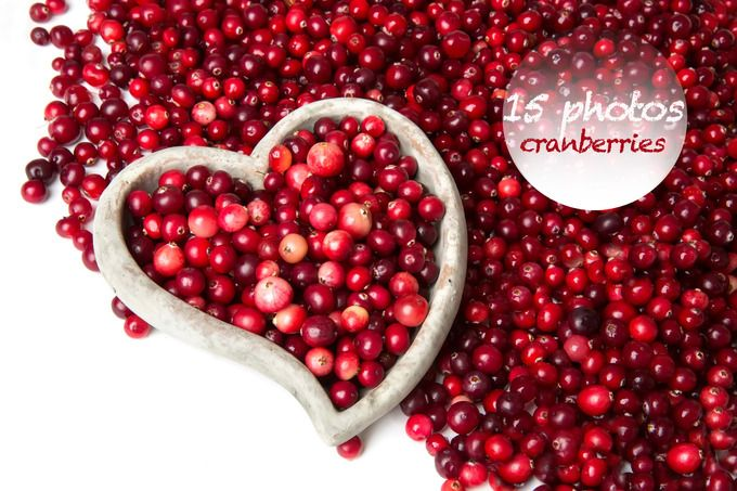collection photos - cranberries by Izdebska on @creativemarket