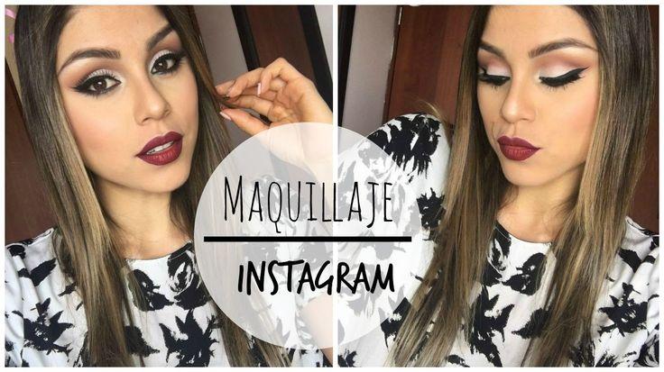 Mi Maquillaje de Instagram!