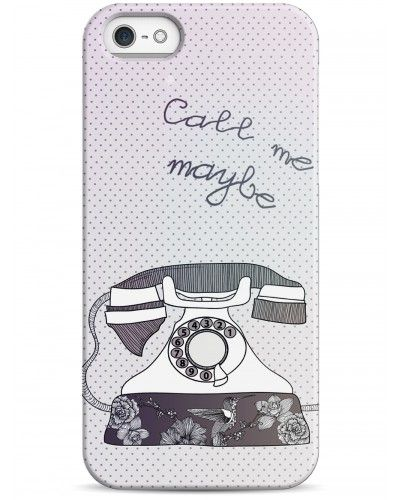 Call me maybe - iPhone 5 / 5S / 5C Дизайнерские чехлы для iPhone #чехлы для iPhone #Sahar cases