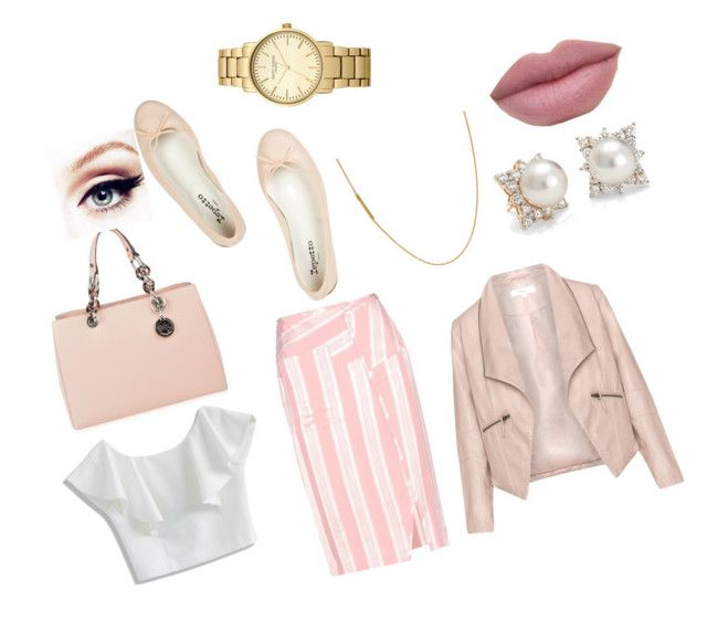 """""""ejecutivo"""" by samantha2nazaret on Polyvore featuring Repetto, Acne Studios, Blue Nile, Chicwish, MICHAEL Michael Kors, Zizzi and Topshop"""