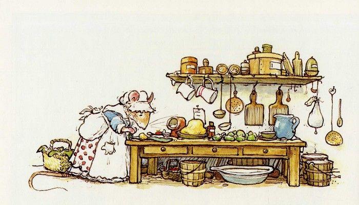 Jill Barklem - The Complete Brambly Hedge (Мышата из зарослей ежевики) - Детская Книга