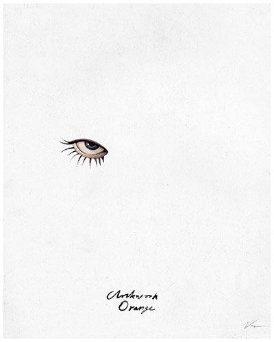 A Clockwork Orange (1971), dir. Stanley Kubrick by Von - Reimagined movie posters