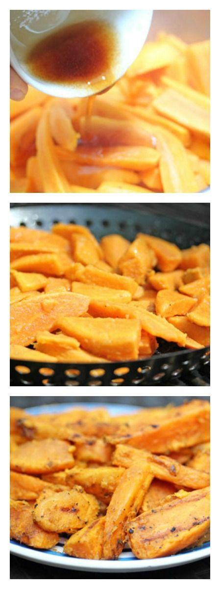 Grilled Sweet Potato Fries   5DollarDinners.com