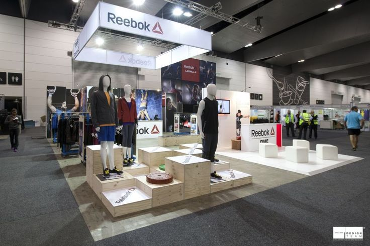 REEBOK @ FITNESS EXPO  Reebok is one of the major brands represented at the Australian Fitness and Health Expo.  Reebok's brand positioning of 'Having Fun Staying in Shape' comes to life through a fun, bold and provocative stand expressed through fresh, eye catching imagery. #Exhibition #design #FitnessExpo #Reebok