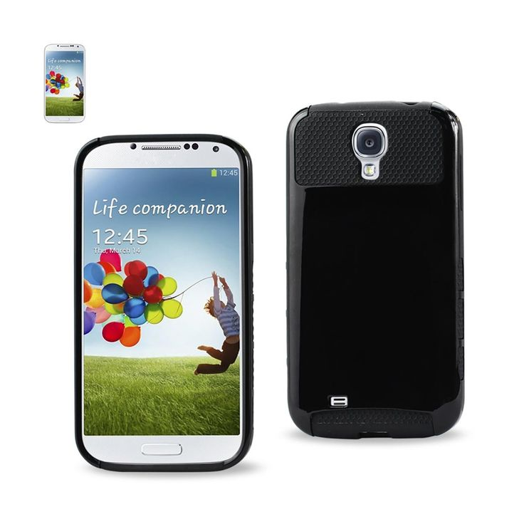 Reiko Samsung Galaxy S4 Case With Chip and Card Holder Black | MaxStrata