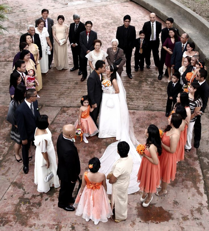 wedding photography poses | ... I love this idea for a large wedding party!!