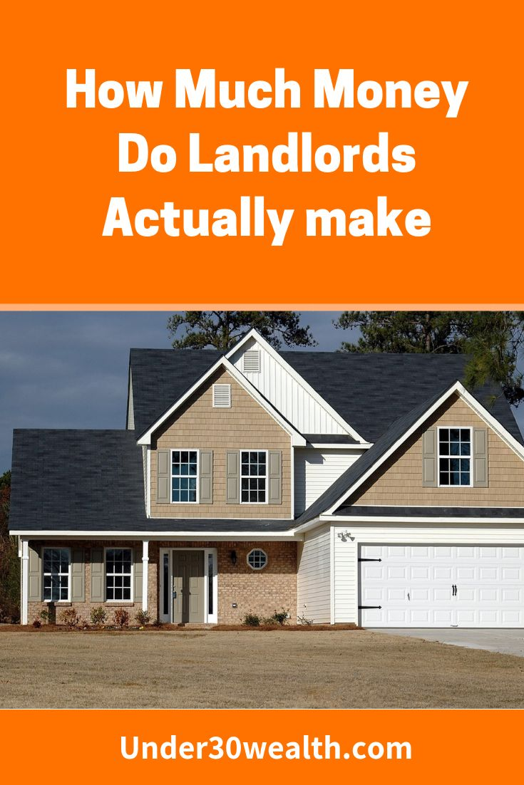 How much money do landlords make with images real