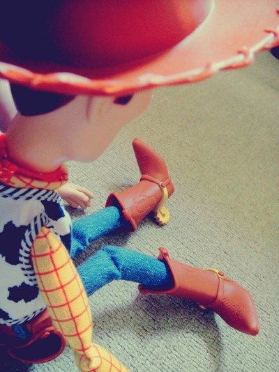 i bet woody and i would be besties