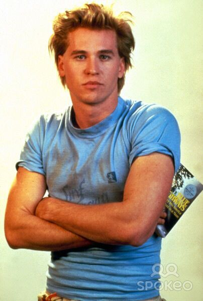 Young Val Kilmer!