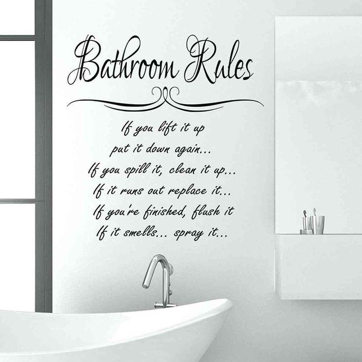 best 25 bathroom wall sayings ideas on pinterest bathroom sayings wall sayings and bathroom