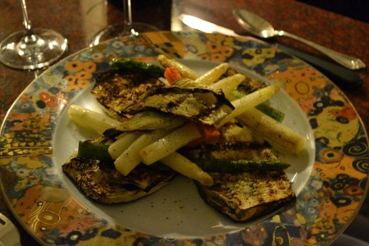 Grilled Eggplant Vegan style