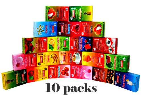 10-Packs-Boxes-Mixed-Herbal-Shisha-for-Hookah-Huka-Hooka-Sheesha-Pipe-Nargile