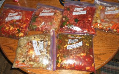 11 Freezer Meals Prepared in 1 Day for under $100!
