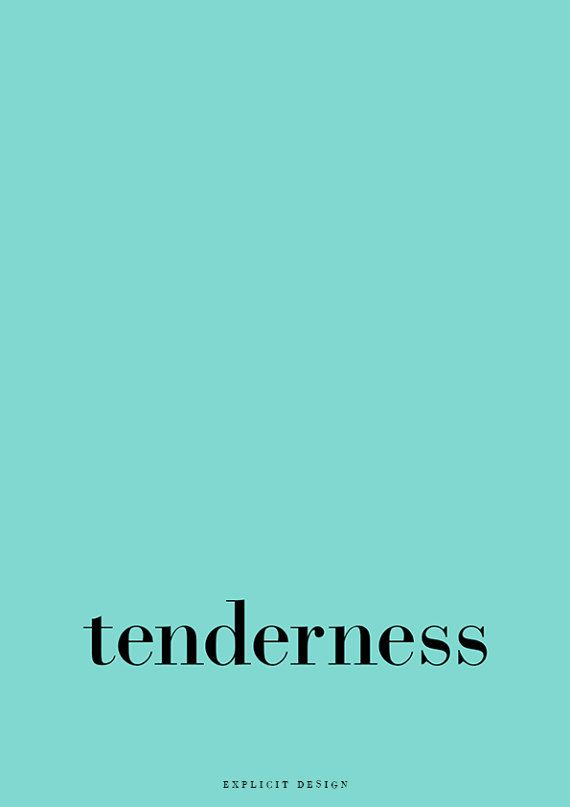 """Tenderness Quote Poster, Minimal Word Print, Simple Room Prints, Modern Sky Blue Design, Quotes Artwork, Light Blue Wall Art, Tumblr Text.    I N S T A N T D O W N L O A D  This listing is for a DIGITAL FILE of this artwork. No physical item will be sent. You can print the file at home, at a local print shop or using an online service.   I N C L U D E D F I L E S 1. High resolution JPG file in 2:3 ratio for printing the following sizes: - 4""""x6"""" - 8""""x12"""" - 12""""x18"""" - 16""""x24"""" - 20""""x30""""…"""
