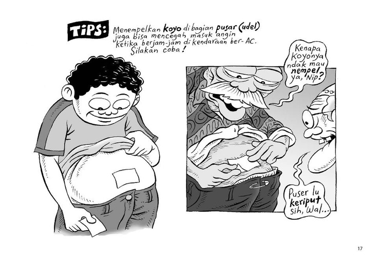 Tips 1: Tiga Manula Jalan-Jalan Ke Pantura (Benny Rachmadi)