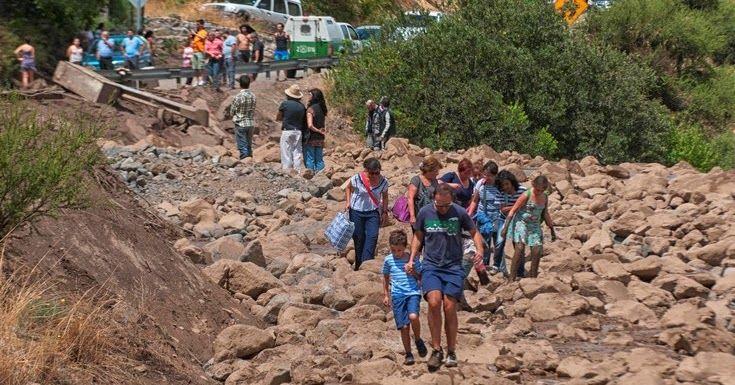 Σφοδρές πλημμύρες πλήττουν τη Χιλή
