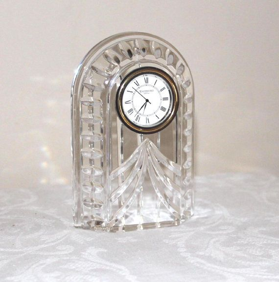 Waterford Crystal Clock Waterford Overture Crystal Clock