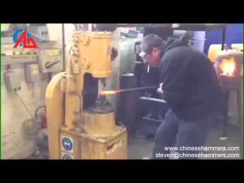 potência do martelo, martelo de ar, forjando martelo, martelo de ferreiro