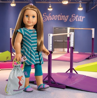 McKenna, the 2012 American Girl Doll of the Year, loves gymnastics!