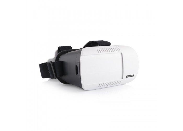 MODECOM FREEHANDS MC-G3DP virtualna 3D očala za mobilne telefone  Virtualna očala MODECOM FreeHANDS MC-G3DP k vam prinašajo neverjetni svet 3D doživetij v polni zmogljivosti. Spoznajte virtualni svet kot ga še niste doslej in se popolnoma potopite v domiš ljijski svet virtualne resničnosti. Moderna, visokokvalitetna stereoskopska 3D VR očala iz ABS plastike, z mehkim oblazinjenjem, prilagodljivimi lečami in spremenljivo nastavitvijo pokrovov za dostop do odprte kamere telefona omogočajo…