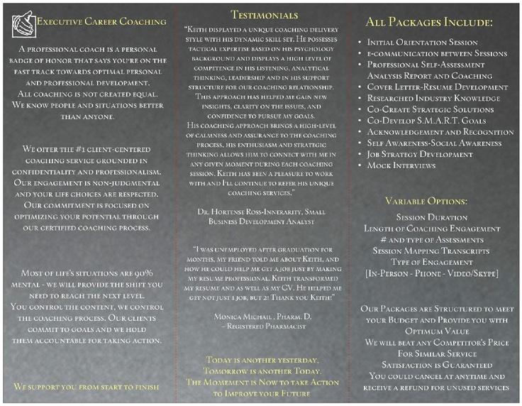 Executive resume writing services career coaching