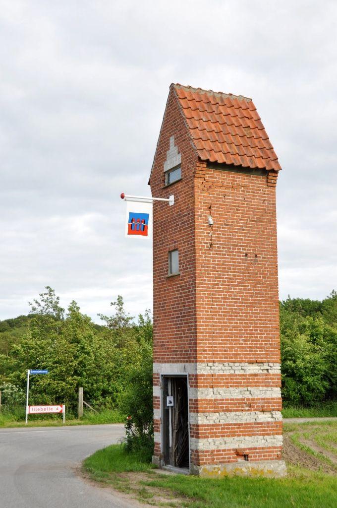 Transformation towers turned into Denmarks longest art gallery. Pinned by Æblegaarden B&B, Langeland, Denmark, www.aeblegaarden.dk
