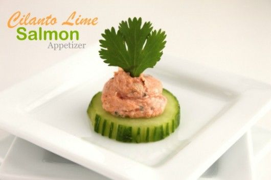 Cilantro Lime Salmon Appetizer @createdbydianeAppetizers Snacks, Cilantro Limes, Limes Salmon, Desserts Appetizers, Appetizers Dips, Appetizers Createdbydian, Createdbydian Yummy, Salmon Appetizers