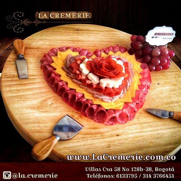 Tabla de quesos y carnes para celebrar aniversarios !! Wp 3203245231