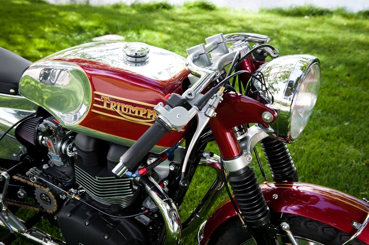 Triumph Brighton Cafe Racer ~ Return of the Cafe Racers