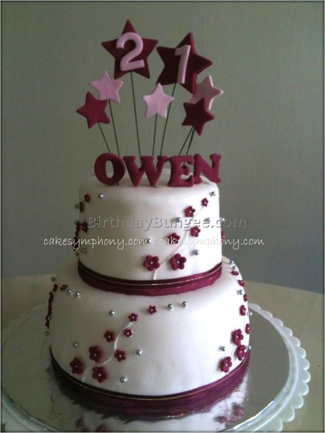 Astonishing 25 Amazing Picture Of 21St Birthday Cake Ideas For Her With Funny Birthday Cards Online Necthendildamsfinfo