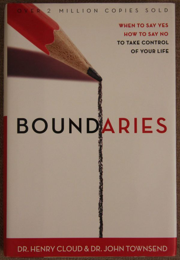 Boundaries: When to Say Yes How to Say No, Take Control of Your Life. One of My Top Favourite Non-Fiction Books. https://joannagreen.ca/2017/10/28/my-top-favourite-non-fiction-books/
