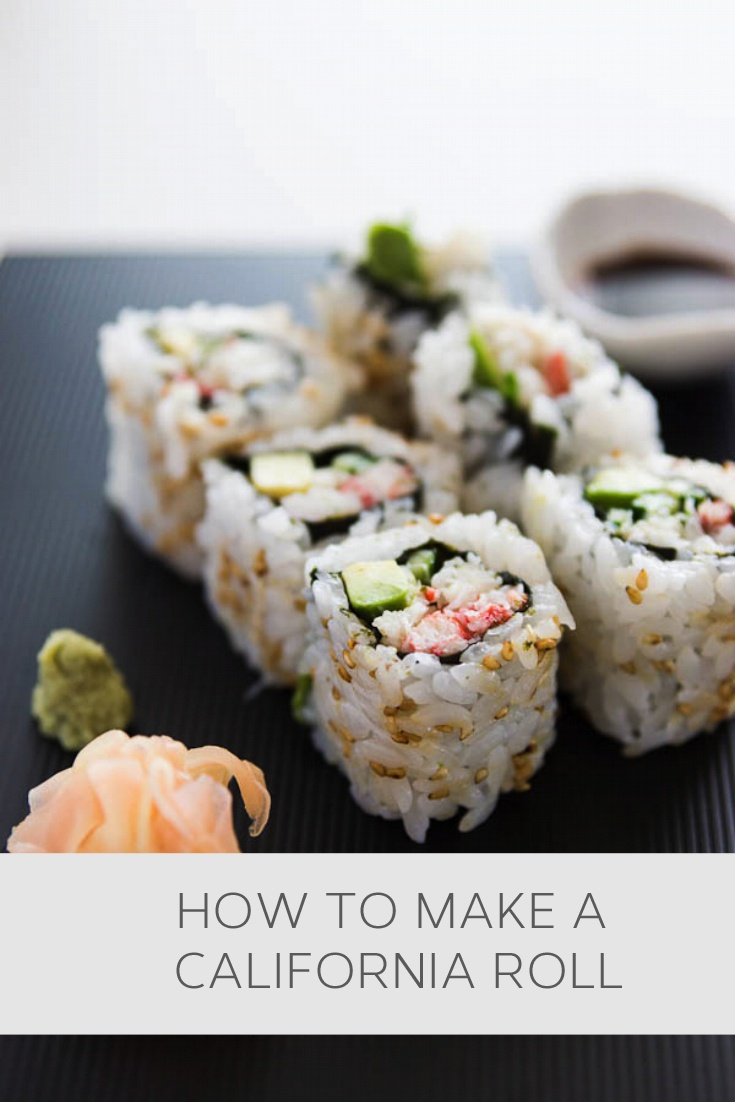 How to make a California roll #howto, #helpful, #useful, #tips, #advice