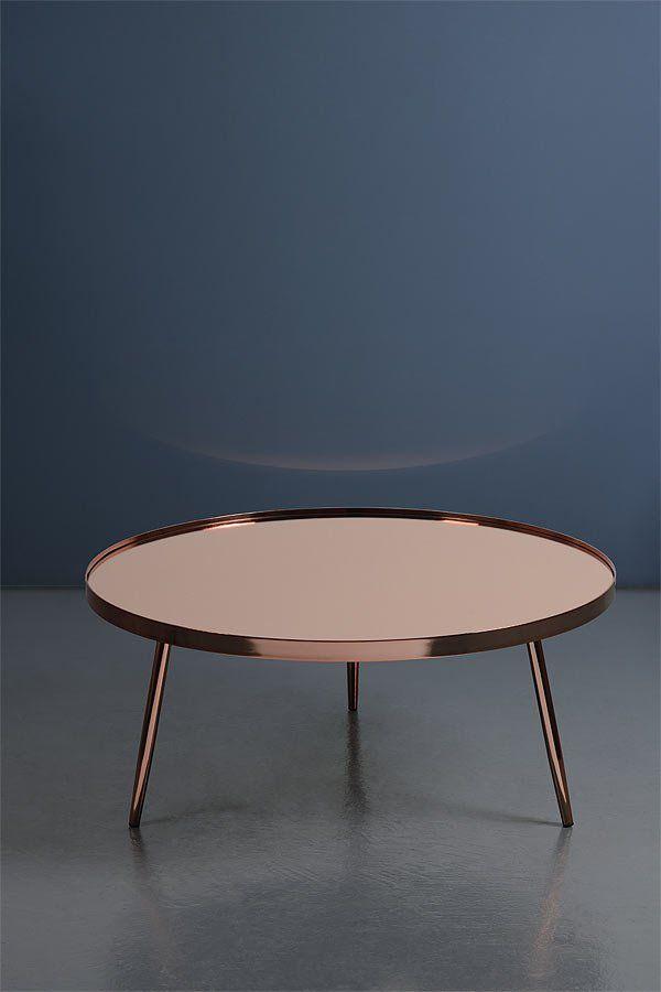 Copper 80cm Diameter Coffee Table, We Love Copper Accessories.