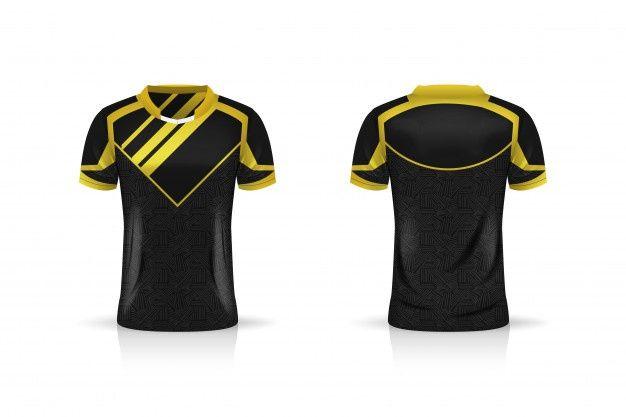 Download Specification Soccer Sport Esport Gaming T Shirt Jersey Template Uniform Desain Produk